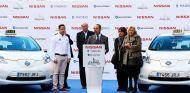 Los primeros 25 e-taxi Leaf de Nissan y La Ciudad del Taxi ya circulan por Madrid - SoyMotor.com