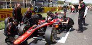 Nobuharu Matsushita hereda la victoria en la carrera corta de la F2 tras un error de Nicolas Latifi