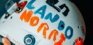 Norris llevará un casco especial diseñado por una niña de seis años - SoyMotor.com