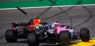 Esteban Ocon y Max Verstappen en el GP de Brasil 2018 - SoyMotor