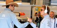 Esteban Ocon y Nico Rosberg en Austin - SoyMotor.com