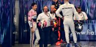 Esteban Ocon y Max Verstappen en Brasil - SoyMotor.com
