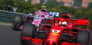 Sebastian Vettel y Esteban Ocon en Hungaroring - SoyMotor.com