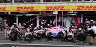Parada en boxes del equipo Force India –SoyMotor.com