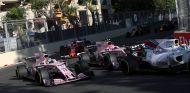 Los Force India, entre el tráfico de Bakú 2017 – SoyMotor.com