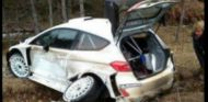 Ogier destroza su Ford Fiesta WRC en Montecarlo - SoyMotor.com