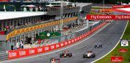 Daniel Ricciardo en la recta principal del Red Bull Ring - LaF1.es