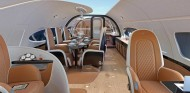 ¿Un jet privado con el interior del Pagani Huayra? ¡Sí, existe! - SoyMotor.com