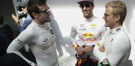 Jolyon Palmer, Daniel Ricciardo y Marcus Ericsson - SoyMotor.com