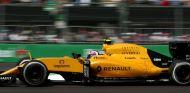Palmer, durante la carrera en México - LaF1