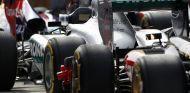 Parque cerrado en el GP de China F1 2013