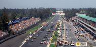 Parrilla de salida del Gran Premio de México de 1991 - LaF1