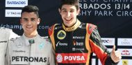 Pascal Wehrlein y Esteban Ocon en la Race of Champions - LaF1