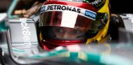 Pascal Wehrlein a los mandos del Mercedes, en Montmeló - LaF1