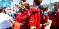 Pascal Wehrlein celebra el podio en el Santiago ePrix - SoyMotor.com