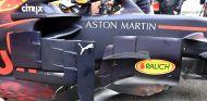 Detalle del bargeboard del RB14 de Max Verstappen en Barcelona - SoyMotor.com