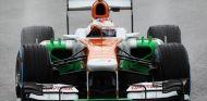 Paul di Resta en la lluvia de Brasil - LaF1