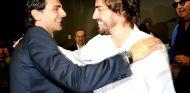 Pedro de la Rosa y Fernando Alonso en Asturias - SoyMotor.com