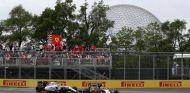 Pérez y Massa rodando juntos durante el GP de Canadá - LaF1