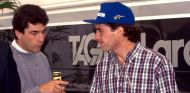 Ayrton Senna junto a su representante, Julian Jakobi - LaF1