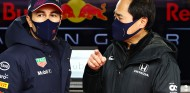 Pérez ya comparte con Marko los secretos del motor Mercedes - SoyMotor.com