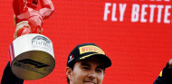 "Pérez vuelve al podio: ""La estrategia ha dado resultado"" - SoyMotor.com"