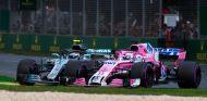 Lucha entre Sergio Pérez y Valtteri Bottas en Australia 2018 –SoyMotor.com