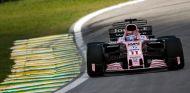 Sergio Pérez con el Force India de 2017 – SoyMotor.com