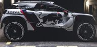 Primeras imágenes del Peugeot 3008 DKR que participará en el Dakar 2017