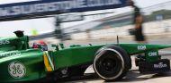 Alexander Rossi en los test de jóvenes pilotos de Silverstone