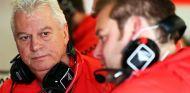 Pat Symonds en el Gran Premio de Gran Bretaña