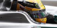 Lewis Hamilton en Bélgica