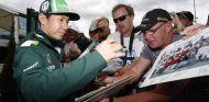 Kamui Kobayashi en el pasado Gran Premio de Gran Bretaña - laF1