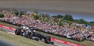 Nico Hülkenberg en el Gran Premio de Hungría