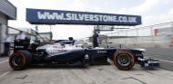 Daniel Juncadella durante los entrenamientos de jóvenes pilotos de Silverstone