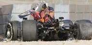 El coche de Pierre Gasly después del accidente - SoyMotor