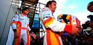 Nelson Piquet Jr. y Fernando Alonso en Australia - SoyMotor.com