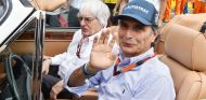 Piquet y Ecclestone durante el GP de Hungría 2015 - SoyMotor