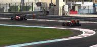 Ferrari y Red Bull durante los test post temporada de Pirelli en Abu Dabi - SoyMotor