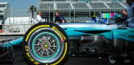 Neumático Pirelli blando en un Mercedes - SoyMotor.com