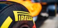 Detalle de un neumático Pirelli en el MCL34 - SoyMotor