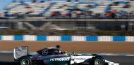 Lewis Hamilton en su Mercedes W05 - LaF1