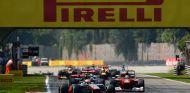 Salida del Gran Premio de Italia de 2012