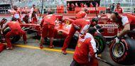 Pit stop de Felipe Massa en el GP de Canadá 2013