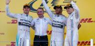 Podio del Gran Premio de Rusia - LaF1