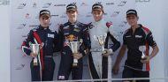 Podio de la tercera carrera del fin de semana de la F4 en Cheste - LaF1