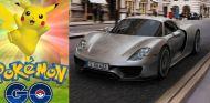 Cazar Pokémon go con un porsche deportivo -SoyMotor