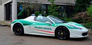Un Ferrari 458 Spider de la mafia, nuevo coche de la policía de Milán - SoyMotor.com