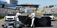 McLaren presentará el MP4-29 el día 24 y Mercedes, el W05 en Jerez