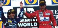 Alain Prost y Ayrton Senna en el GP de Australia 1993 - SoyMotor.com